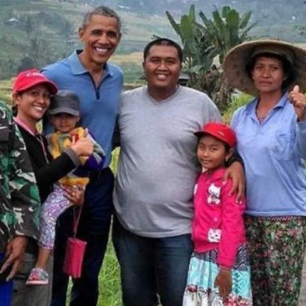 Desa Jatiluwih yang Dikunjungi oleh Barack Obama