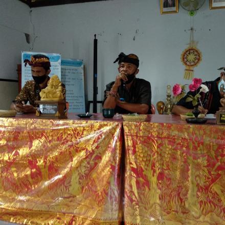 Musyawarah Desa Perubahan APBDes Tahun 2021 terkait PPKM skala Mikro